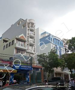 улица, здание, Хошимин, Вьетнам