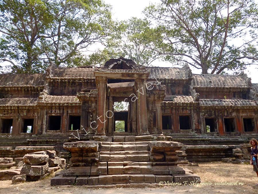 руины храма Ангкор Ват