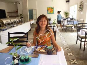 завтрак в отеле, Сием Рип, Камбоджа
