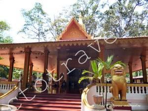 в городе Сием Рип, Камбоджа