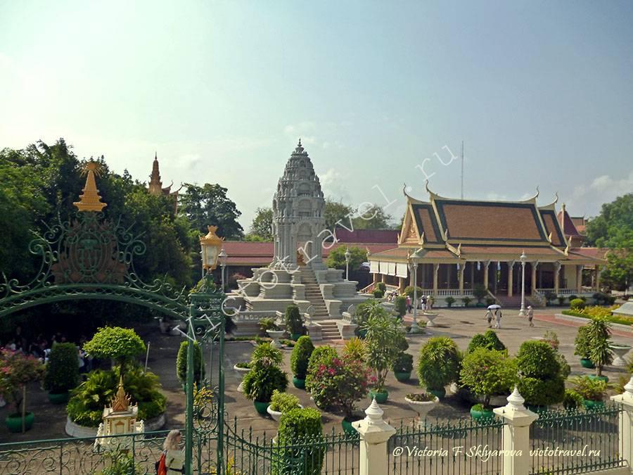 королевская резиденция, Пномпень, Камбоджа