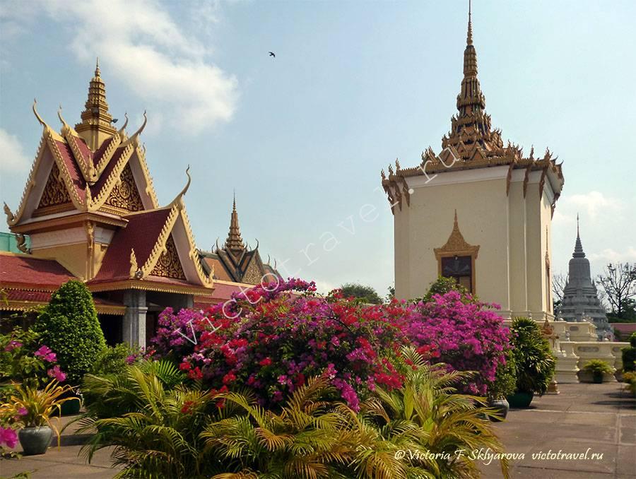 дворцовый комплекс Пномпень, Камбоджа