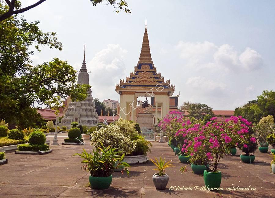 Павильон Наполеона в Дворцовом комплексе, Пномпень, Камбоджа