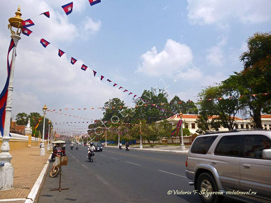 улица, Пномпен, Камбоджа