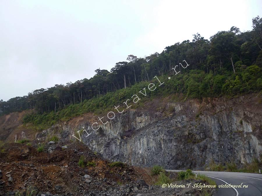 горная дорога из Далата в НяЧанг, Вьетнам