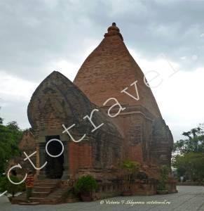 Тямская Башня-храм По Нагар в НяЧанг, Вьетнам