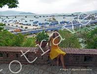 вид на залив в НяЧанг, Вьетнам