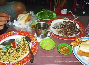 ракушки на ужин - вьетнамская еда