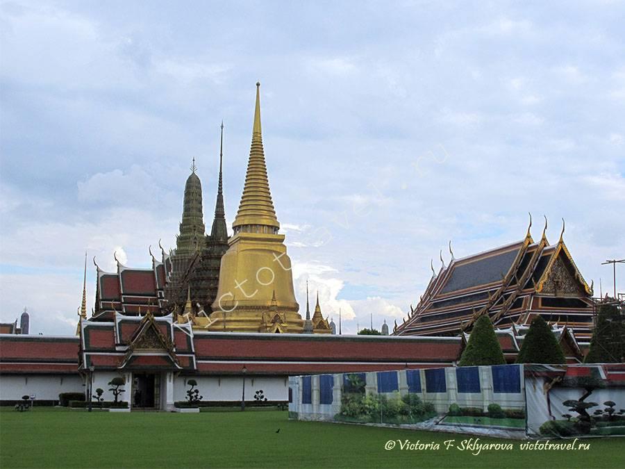 храм Будды и Королевский Дворец, Бангкок, Тайланд