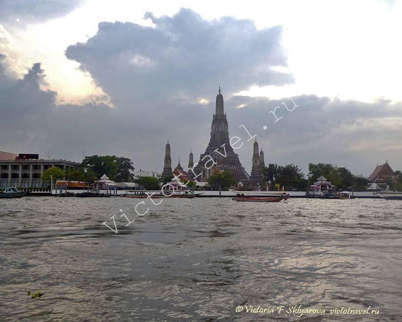 Храм Рассвета Ват Арун, Бангкок, Тайланд