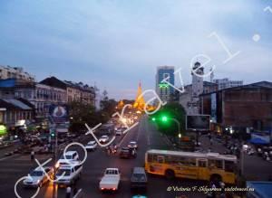 вечерний Янгон, Мьянма