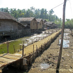 Рыбацкая деревня в Мьянме