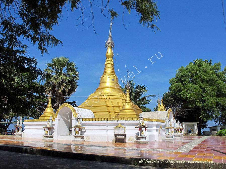 Пагода на острове Покала, Мьянма