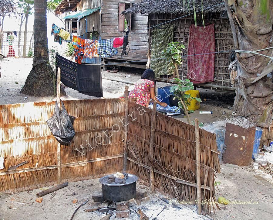 деревенские заботы, Покала, Мьянма