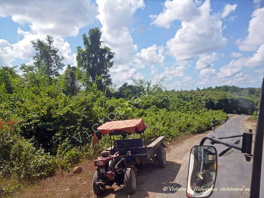 по дороге из Патеин к морю Мьянма