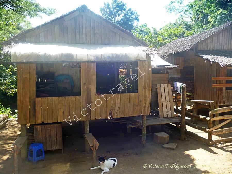 деревенский дом, Мьянма