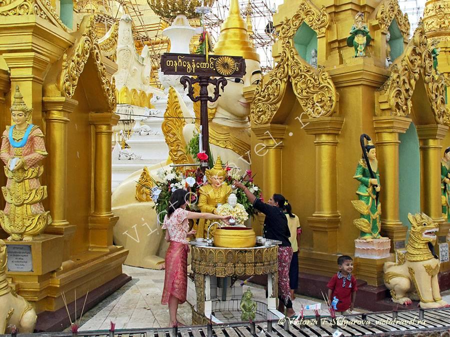 Пагода Шведагон, Янгон, Мьянма