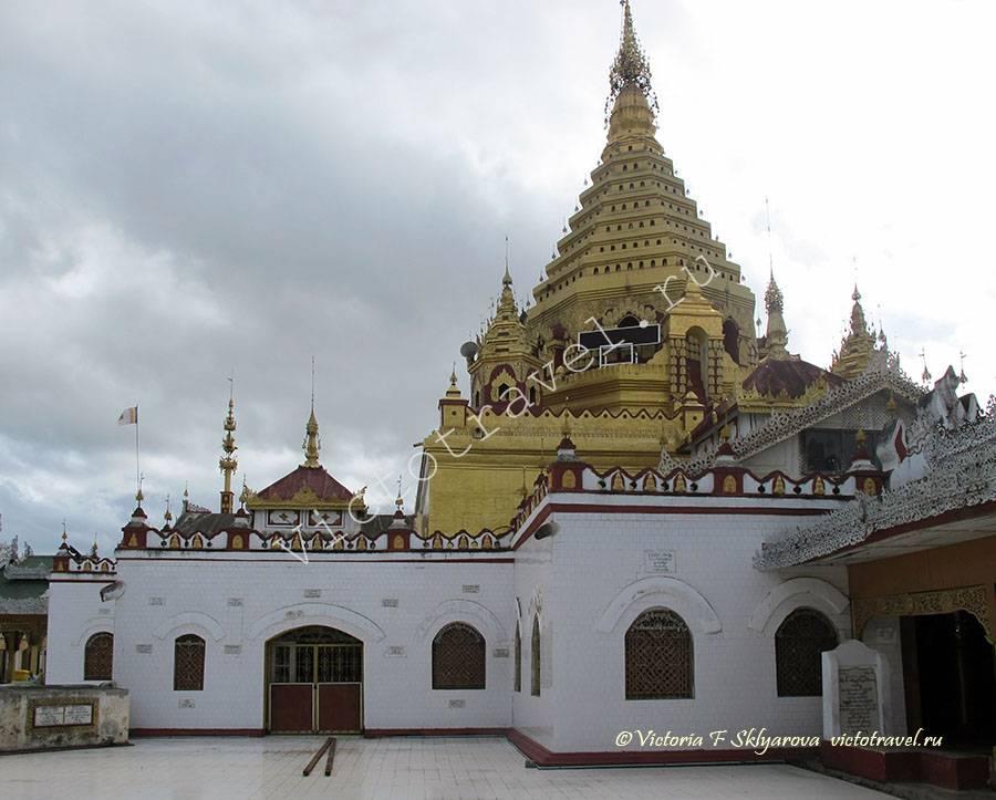 Ньяунг Шве - город у озера Инле, Мьянма