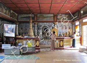 алтарь Пагоды Индейн, озеро Инле, Мьянма