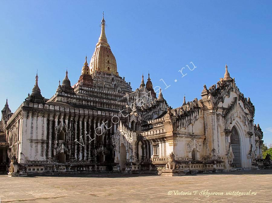 храм Ананда в Багане, Мьянма