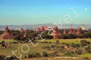 Храмы, Пагоды, Монастырь, Баган, Мьянма