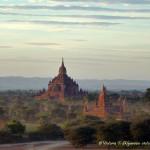 Древний Баган в лучах заката, Мьянма