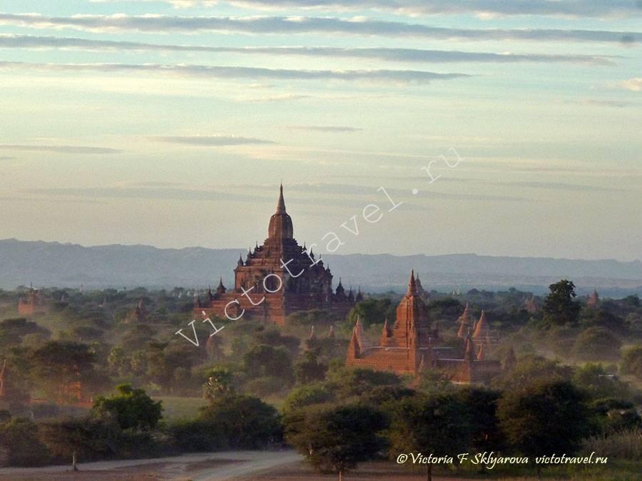 храм Суламанина закате-Bagan253