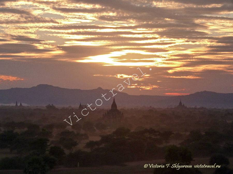 Закат в Багане-Bagan269