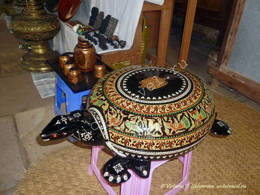 сувенир черепаха-Bagan29