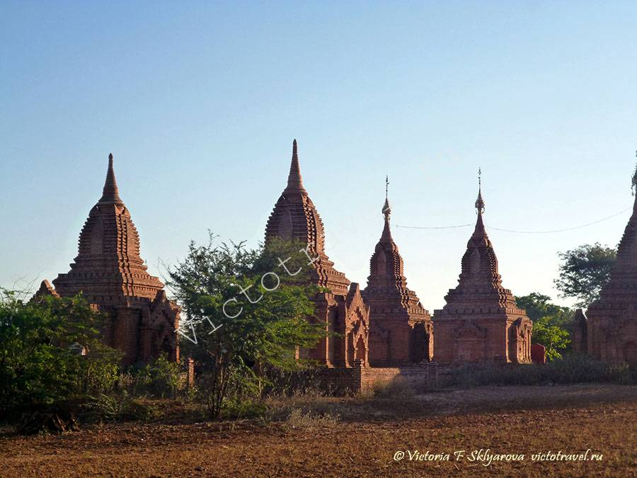 Paya thonzu Temple- Bagan325