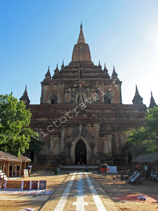 Храм Суламани-Sulamani Temple-Bagan342