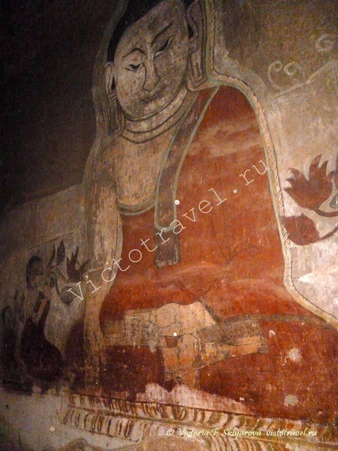 фрески в храме Bagan346