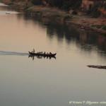 лодка на реке Иривади-Bagan405