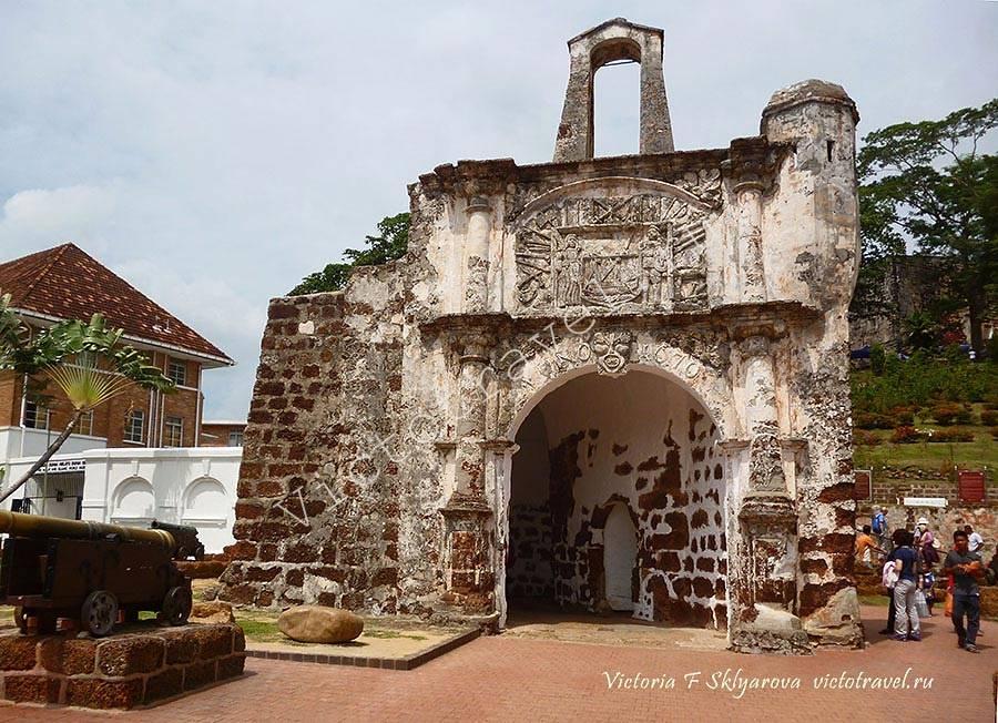 форт Порта де Сантьяго, Малакка, Малайзия