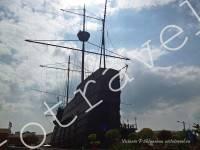 корабль, достопримечательность, Малакка, Малайзия