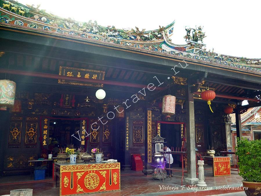 китайский храм Чен Хун Тенг , Малакка, Малайзия