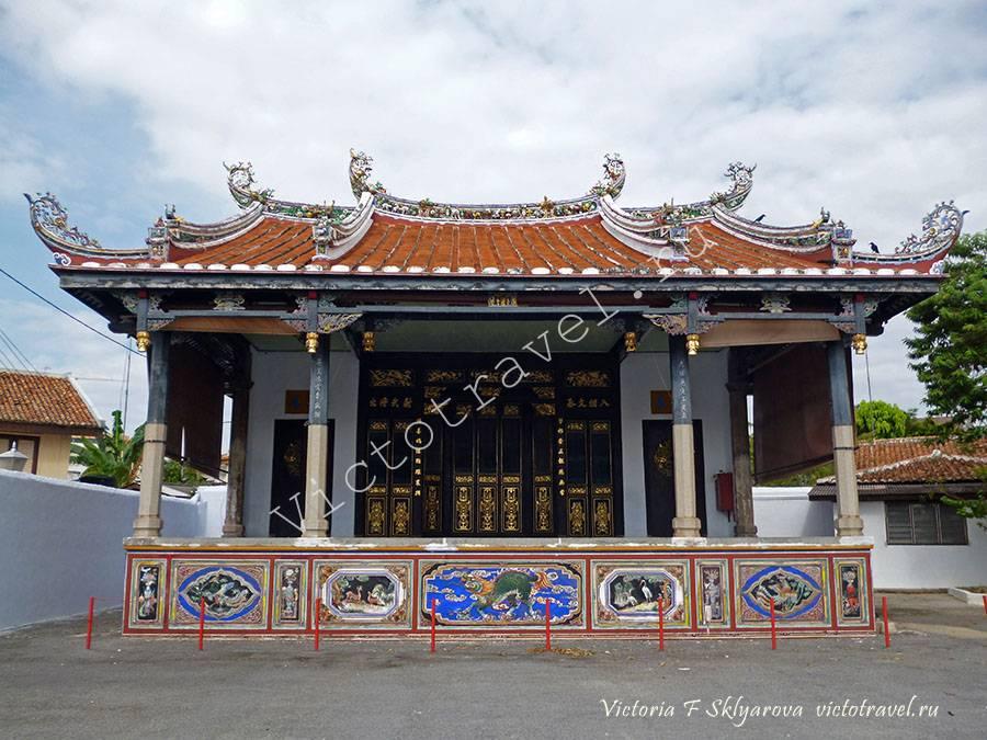 китайский храм, Малакка, Малайзия