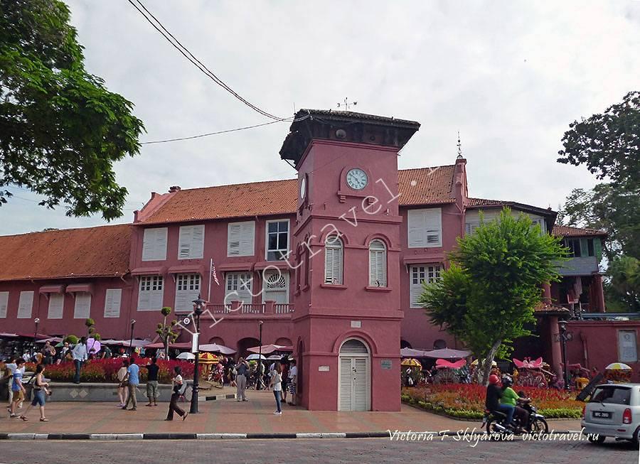 часовая башня, Малакка, Малайзия
