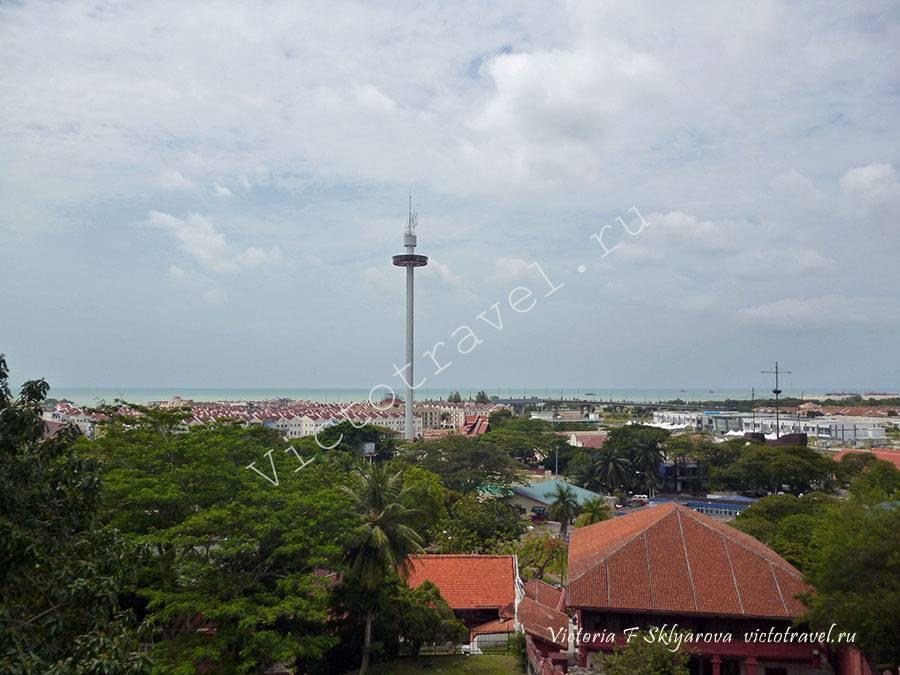 смотровая башня, Малакка, Малайзия