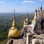 Гора Поупа Mount Popa, Мьянма
