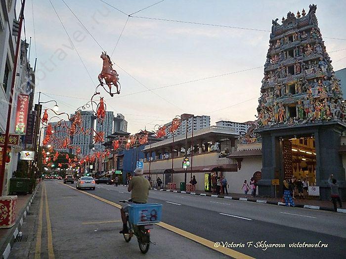 Сингапур - город, страна, остров