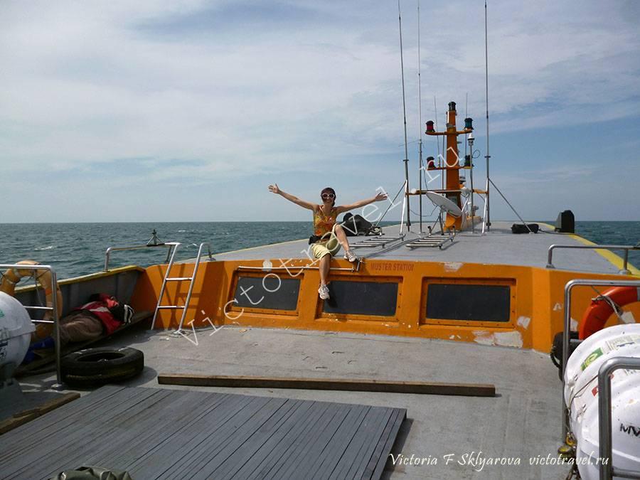 Плыву на катере в Думай, на Суматру в Индонезию, катер, море, свобода, путешествие
