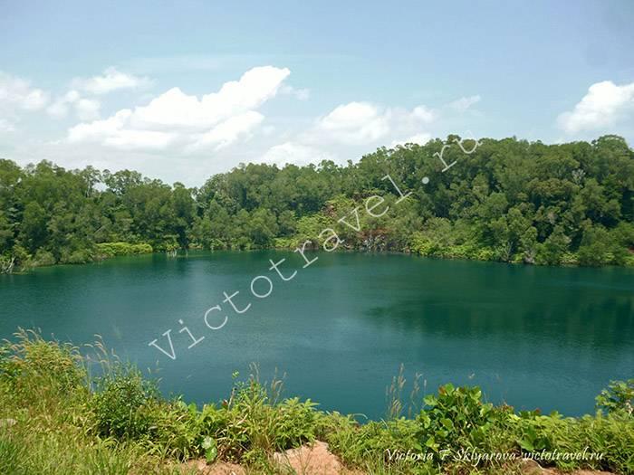 озеро, природа, остров Убин, Сингапур, Singapore20