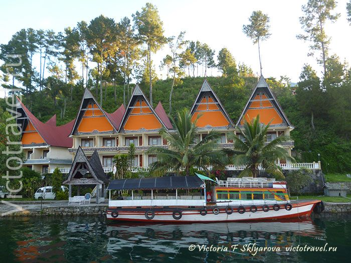 отель на озере Тоба, Суматра, Индонезия, Toba-lake121