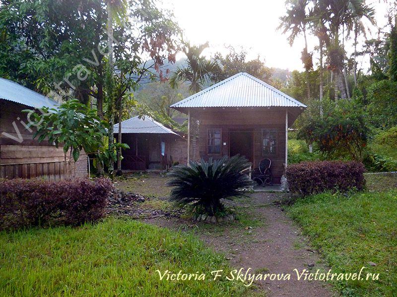дом в гестхаусе, Озеро Манинджау, Суматра, Индонезияsumatra-maninjaui12