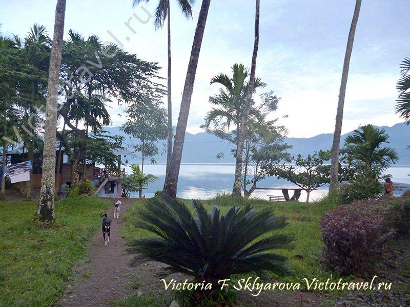 отдых у Озера Манинджау, Суматра, путешествие в Индонезиюsumatra-maninjaui13