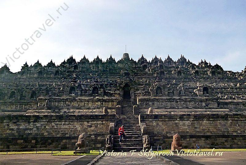 Храм Боробудур, Ява, Индонезия