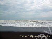 Дюны и море, остров Ява, Индонезия