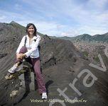 на вулкане Бромо, остров Ява, Индонезия