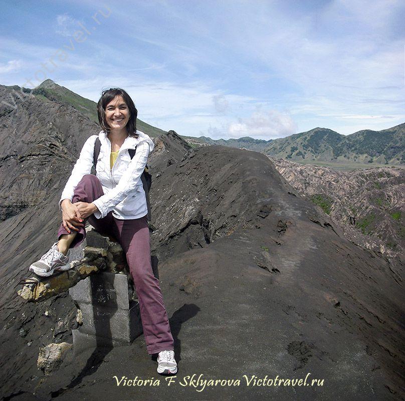 Кратер вулкана Бромо, самостоятельное путешествие по Индонезии